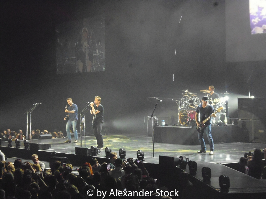 Nickelback Live in der Barclaycard Arena