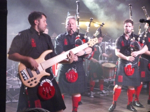 "Red Hot Chilli Pipers in ""Die Börse Wuppertal"""