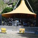 Feuertal Festival 2018 beim Aufbau